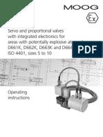 Instruções de Operação D66X versões K