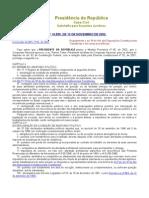 Lei No 10.559, De 13 de Novembro de 2002.