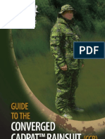 Canadian Forces Converged Rainsuit Guide