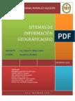 SISTEMA DE INFORMACIÓN GEOGRÁFICA(SIG)