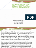 Housing Finance and Nhb