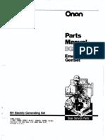 Onan 5500 Generator Parts