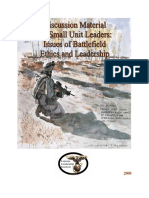 Issues of Battlefield Ethics and Leadership