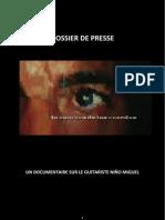 """Dossier de presse """"L'ombre des cordes"""" (La sombra de las cuerdas)"""