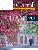 John Carroll University Magazine Spring 2006