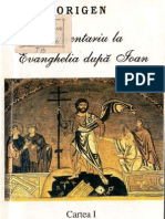 (Origen) Comentariu La Evanghelia Dupa Ioan
