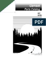 KY Parts Manual