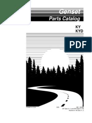 KY Parts Manual   Carburetor   on