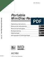 Manual MiniDisc