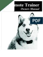 Remote Dog Trainer
