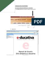 CLASE Nº 1 - BAJADA DE MANUALES DE LA PLATAFORMA