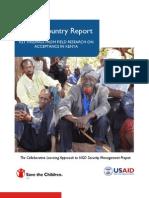 Kenya Country Report