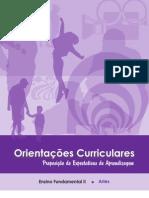 OrientacpesCurriculares Proposicao Expectativas de Aprendizagem EnsFundII Artes