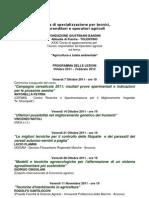 Scuola Di Specializzazione Per Tecnici 2011-2012 Fondazione Giustiniani Bandini