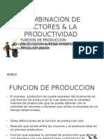 Combinacion de Factores & La Productividad