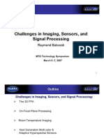 Balcerak, Raymond - Challenges in Imaging, Sensors, And Signal Processing