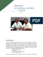 Protocolos Banerji Cancer