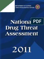 The National Drug Threat Assessment 2011
