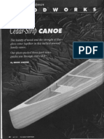 Cedar Strip Canoe Part 1
