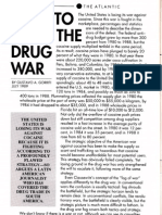 How to fight drug war (Facing the 90's)