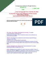 GlossaryPart I