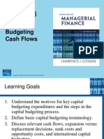 Chapt 8 Capital Budgeting Cash Flows