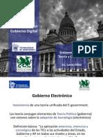 Gobierno Digital, teoría y conceptos - Clase 2 - Diplomado TEC y P&C