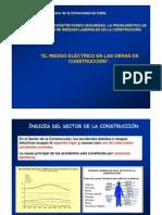 RIESGO ELECTRICO EN LAS OBRAS DE CONSTRUCCION