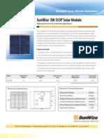 Solar Panel DataSheet 12-16-10