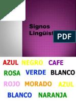 signos linguisticos