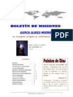 BOLETIN DE MISIONES 26-09-2011