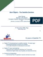 20061204 Digital Switch Over Presentation ESOA HansFjosne