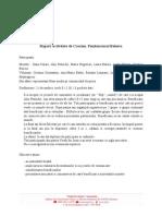 Raport Actvitate de Craciun-Rahova