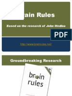Brain Rules - Introduction the the Book and Website