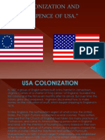 Colonization and Indepence of Usa New