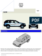 VOLVO XC90 2004 User Manual