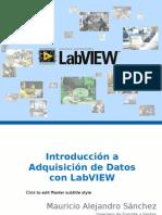 Introducción a LabVIEW y Mediciones computarizadas