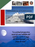 3. Evolucion de La Planificacion
