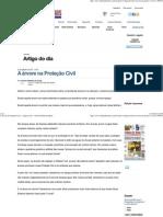 A árvore na Proteção Civil - Artigo do dia - Jornal Tribuna de Minas