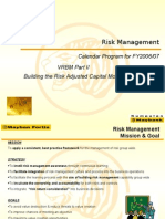 Risk Management Calendar Program 200607