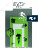 International Rice Research Notes Vol.18 No.2