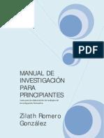 Investigacion Para Principiantes