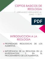 Conceptos Basicos de Reologia