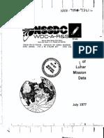 Catalog of Lunar Mission Data