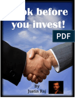 Look Before You Invest eBook