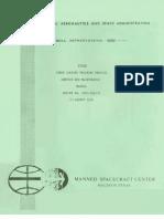 Lunar Landing Training Vehicle Service and Maintenance Manual