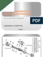 SISTEMA CARDÁNICO Y UNIONES UNIVERSALES