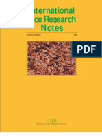 International Rice Research Notes Vol.23 No.1