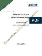 REFORMA NORMALES Documento.base.9.Julio