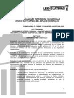 12ley de to Territorial y Desarrollo Urbano Sustentable